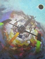 1970s Jack Gaughan Science Fiction Art Print Conde Nast Pub 1975 Sci Fi