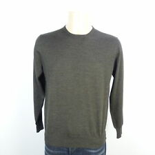 Cruciani Pullover Knit MARRONE-GRIGIO MELANGE TG. 50 (or157)
