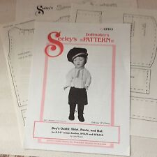 """SEELEY'S DOLLMAKER'S PATTERN for 8.5""""-9"""" Compo bodies"""