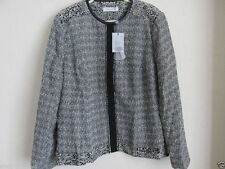 Popper Polyester Formal Plus Size Coats & Jackets for Women
