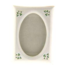 "Royal Tara Fine Bone China Ireland Shamrock Clover Frame 4.25x5.75"""