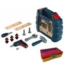 Bosch Theo Klein Mini Werkzeugbox Spielzeug + Tanos Micro Systainer bunt