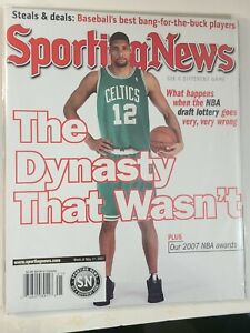 San Antonio Spurs Sporting News No Label Tim Duncan The Dynasty That Wasn't 2007