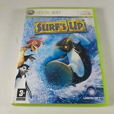 Surf s up Xbox 360 Surfen Sport Videospiel HANDBUCH PAL