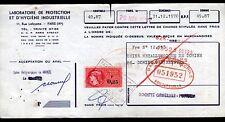 PARIS (IX°) LABORATOIRE de PROTECTION & d'HYGIENE INDUSTRIELLE en 1970
