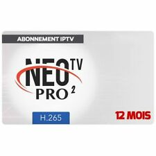 original NEO TV PRO2 H.265, 12 months code and M3U Smart TV,android box, MAG