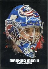 09/10 BETWEEN THE PIPES MASKED MEN II MASK SILVER #MM-28 DAN LACOSTA *44363