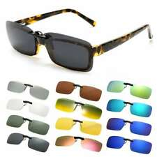 Frameless Sunglasses Polarized Clip On Driving Glasses Day Night Vision Lens New
