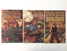 On The Far Side With Dead Folks #1, 2(Wrap), 3  Set (Avatar, 2003) VF (3 Comics)
