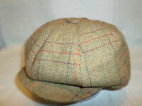 ENGLAND MADE 8 PIECE NEWSBOY BAKER BOY TWENTY'S THIRTY'S PEAKY BLINDERS CAP