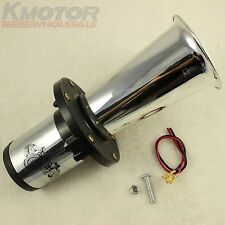 AHOOGA ANTIQUE VINTAGE STYLE 12 VOLT OLD FASHION CAR HORN HOT ROD KLAXON CHROME
