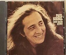 Paul Siebel - jack-knife gypsy - 1990 German IMPORT CD - Like New RARE OOP