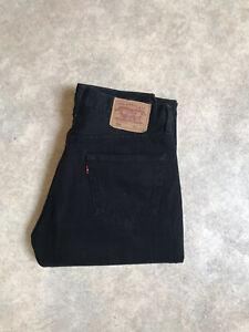 Jean Levis 501 Vintage Taille Haute W34 L32 Taille 44