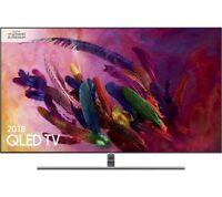 New Samsung 55 Inch Ultra HD 4K Smart Quantum LED TV QE55Q7FNA (2018 Model)