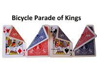 PACKET MAGIC TRICK PARADISE OF KINGS Easy to Learn with Bicycle Gaff Card Stock