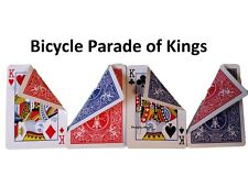 PACKET MAGIC TRICK PARADE OF KINGS Easy to Learn with Bicycle Gaff Card Stock