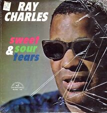 Ray Charles Vinyl LP ABC Paramount Records,1964,Mono ABC-480, Sweet & Sour Tears