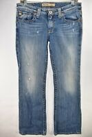 Big Star Casey K Womens Low Rise Bootcut Jeans Tag Size 30R Meas 30x30 Boot Flap