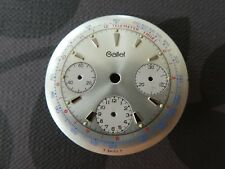 Original Gallet  dial for Valjoux 72 movement  ungetragen 32mm