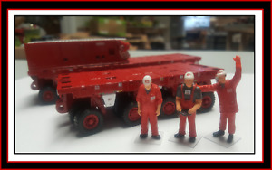 1/50 SPMT Set (6+4+PPU Generator) in Red+3 Custom Figures - FREE SHIPPING !!!