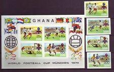 Briefmarken aus Afrika mit Fußball-Motiv