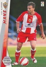 N°007 MANE # UD.ALMERIA TRADING CARD PANINI MEGA CRACKS LIGA 2009