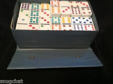 Domino Dominoes Set Deluxe Bakelight by Cardinal 88 Vintage Pieces with Case