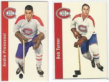 1994-95 Parkhurst Missing Link #81 Bob Turner + 75 andre pronovos