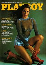 Playboy Oktober/10/1980   SYDNE ROME*