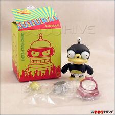 "Kidrobot Futurama collection vinyl figure Nibbler 2.5"" opened to identify"