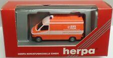 HERPA Nr.042604 MB Sprinter Rettungsdienst 'FW FRANKFURT a.M.' - OVP