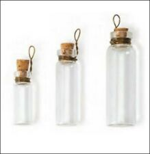 Mini Lab Glass Bottles and Fairy Dust (3)