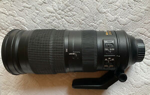 Nikon AF-S NIKKOR 200-500mm F/5.6E ED VR Excellent Condition!