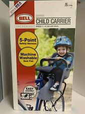 BELL Skipper Child Carrier Bicycle/Bike Seat - NEW, 5 Point Harness - Ships Free