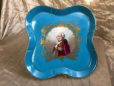 FRANCE LOUIS XVI SEVRES 1740-1770 Exquisite Porcelain Plate 18 century