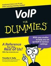 VoIP For Dummies, Kelly, Timothy V., Good Book