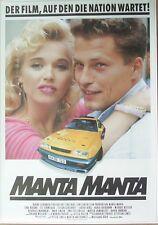 MANTA MANTA - TIL SCHWEIGER - OPEL Ruhrpott 1991 - GEROLLT FILMPLAKAT KINOPLAKAT