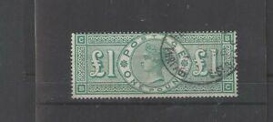 SG 212 £1 Green