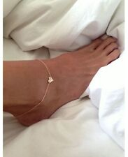 Link Foot Love Gold Tone Jewelry Uk New Beach Fashion Sexy Ankle Bracelet Chain