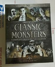 New Listing Universal Classic Monsters: Complete 30-Film Collection Horror Blu-ray Disc New