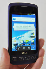 LG Optimus S LS670 Sprint Wireless Cell Phone PURPLE Android Smartphone WiFi sex