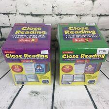 Lakeshore Educational Close Reading Teacher Student Learning Activity Grade 4/5