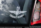 Parachute Regiment - Car Window Sticker -The British Paras RAF Military Veteran