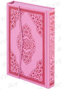 Kuran Kur´an Kuran´i Kerim Pembe Orta Boy 17 x 24 cm Koran Pink