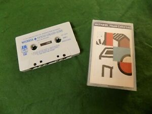 Cassette: WITNESS House called love POP NEW WAVE