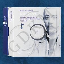 Finland - 150. Birthday Karl Fazer Chocolate - 10 Euro Pf - Silver