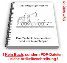 Abschleppwagen selbst bauen Abschleppgerät Abschlepp Vorrichtung Technik Patente