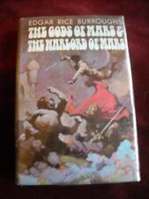 Edgar Rice Burroughs - THE GODS OF WARS & THE WARLORD OF MARS - BEAUTY !!!!