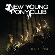 NEW YOUNG PONY CLUB, THE OPTIMIST, SEALED 10 TRACK CD ALBUM IN DIGIPAK FROM 2010