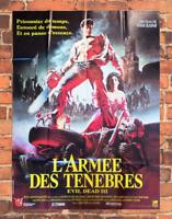 Plakat Kino DIE ARMEE Des Tenebres Evil Dead 3 Sam Raimi 120 X 160 CM